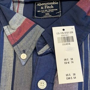 Abercrombie & Fitch Shirts - NWT men's Abercrombie and Fitch plaid shirt XXL